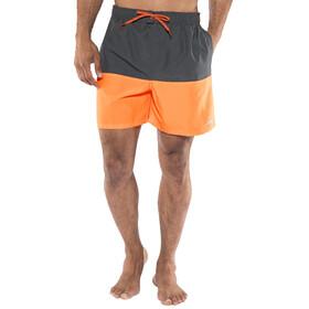 """Nike Swim Core Split Volley zwembroek Heren 5,5"""" grijs/oranje"""